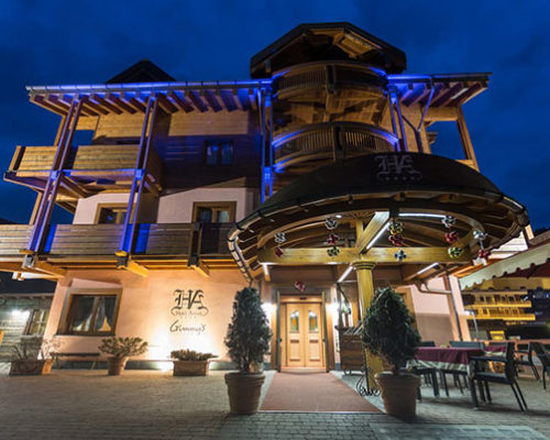 Aprica Narty - Hotel Arisch